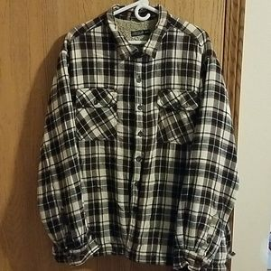 Faded Glory Mens 2XL (50-52) Button Down Jacket